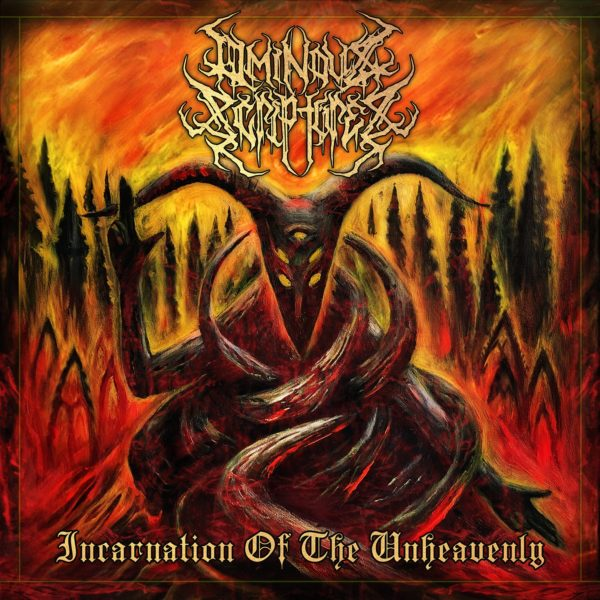 "Ominous Scriptures ""Incarnation Of The Unheavenly"" out March 30th 2021!"